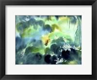 Framed Blue Lagoon I