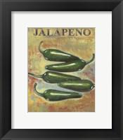 Jalapeno Framed Print