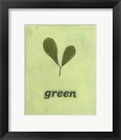 Framed Going Green III