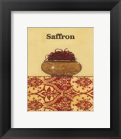 Exotic Spices - Saffron Framed Print