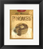 Pancake Mix Framed Print