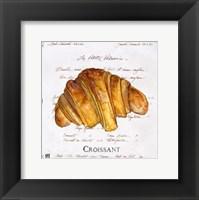 Croissant Framed Print