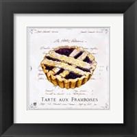 Tarte aux Framboises Framed Print
