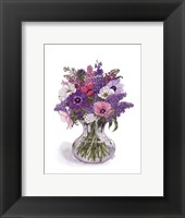 Framed Anemone Bouquet