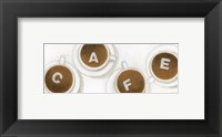 Framed Mus Hav Cafe