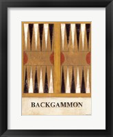 Framed Backgammon