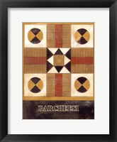 Framed Parcheesi