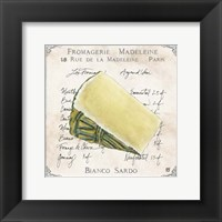 Fromages II Framed Print