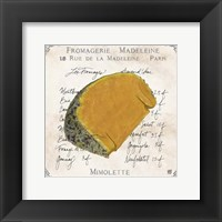 Fromages III Framed Print
