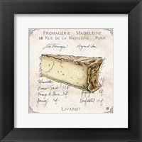 Fromages IV Framed Print