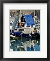 Antibies Harbor II Framed Print