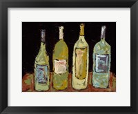 Bottles of White Framed Print