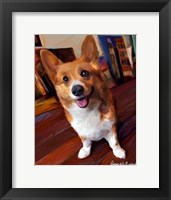 Framed Corgi Get Low