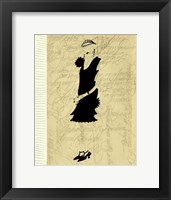 Flapper Fashion III Framed Print