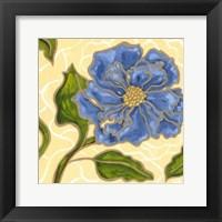 Framed Annie Blue I