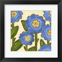 Framed Annie Blue II