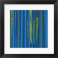 Framed Royal Stripes II