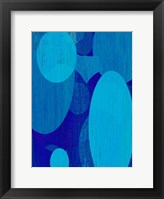 Framed Ocean Ellipses I
