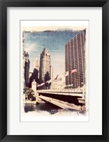 Framed Chicago Vintage I