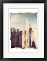 Framed Chicago Vintage II