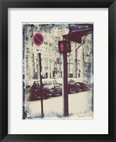 Framed Paris Stroll I