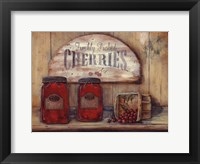 Framed Cherry Jam