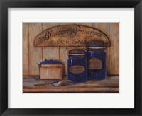 Blueberry Preserves Framed Print
