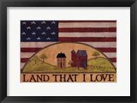 Framed Land That I Love