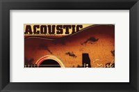 Framed Acoustic