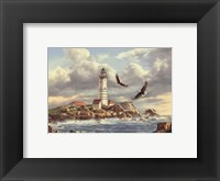 Framed Boston Lighthouse