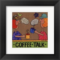 Coffee Talk Framed Print