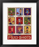 Framed Mug Shots