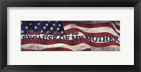 Military Mother Framed Print