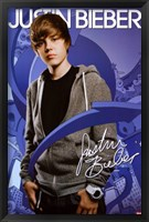 Framed Justin Bieber - Arrows