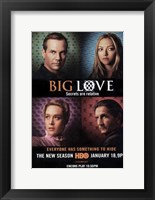 Big Love Cast Framed Print