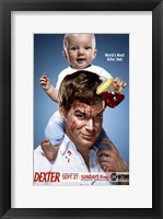 Framed Dexter with Baby