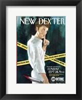 Framed Dexter New York Times Spoof