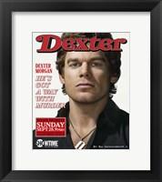 Framed Dexter Rolling Stones