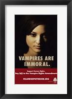 Framed True Blood Vampire are Immoral.