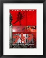 Framed Akira - red