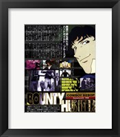 Framed Cowboy Bebop - Bounty Hunter