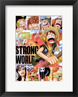 Framed One Piece Film: Strong World
