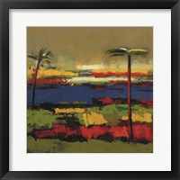 Framed Gold Coast II