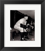 Framed Lou Gehrig Posed