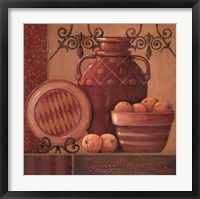 Orange Spice Framed Print