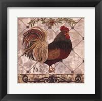 Framed Rooster #5
