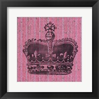 Vintage Crown III Framed Print
