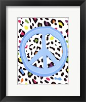 Framed Leopard Peace