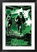 Framed Green Hornet - Sting