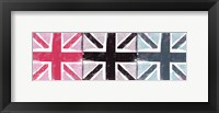 Union Jack Three Square I Framed Print